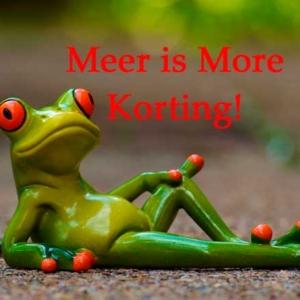 Meer is more Korting!